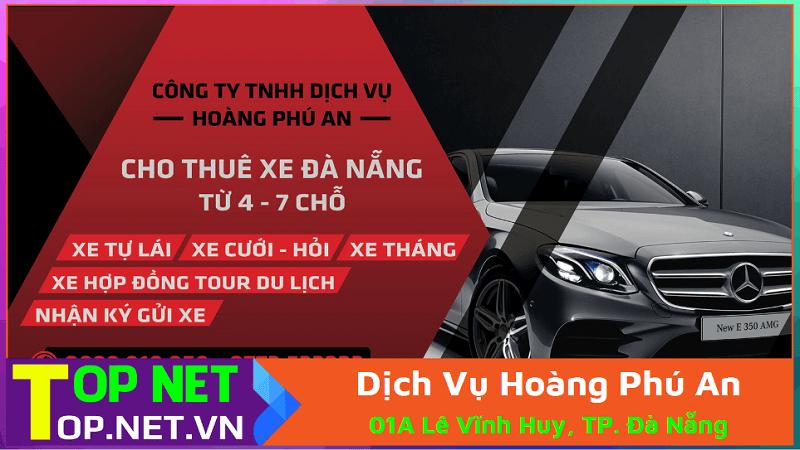 Công ty TNHH Dịch Vụ Hoàng Phú An