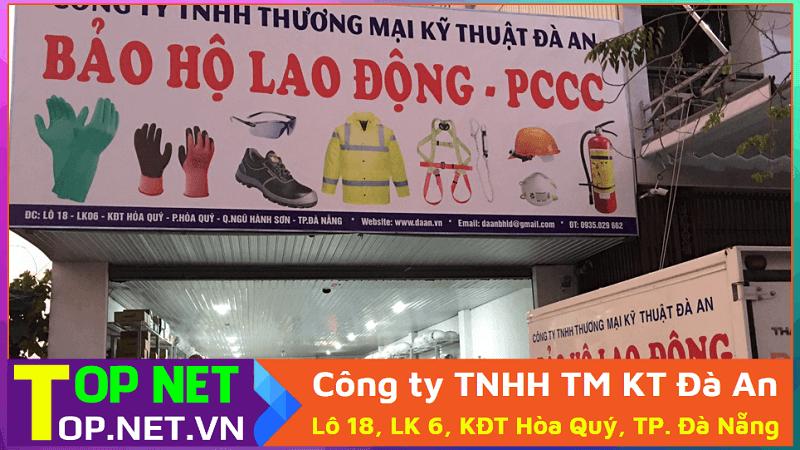 Công ty TNHH TM KT Đà An