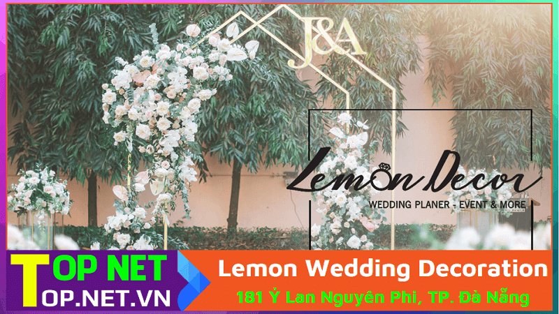 Lemon Wedding Decoration