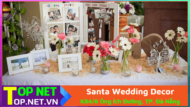 Santa Wedding Decor