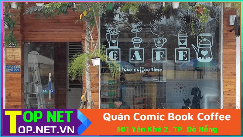 Quán Comic Book Coffee – Cafe đọc sách