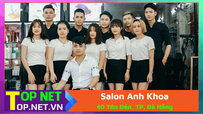 Salon Anh Khoa - Tiệm cắt tóc nữ đẹp rẻ ở Đà Nẵng