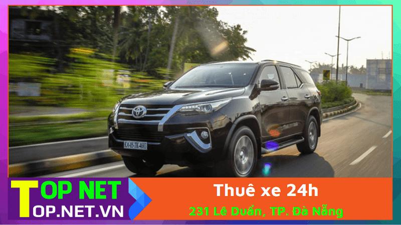 Công ty TNHH TM DV Thuê xe 24h