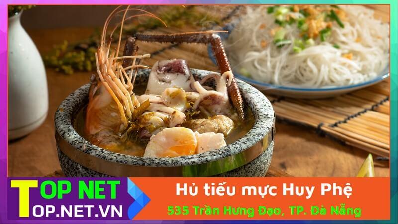 Hủ tiếu mực Huy Phệ - Hủ tiếu ngon ở Đà Nẵng