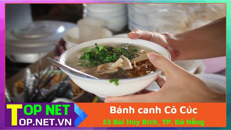 Bánh canh Cô Cúc Đà Nẵng
