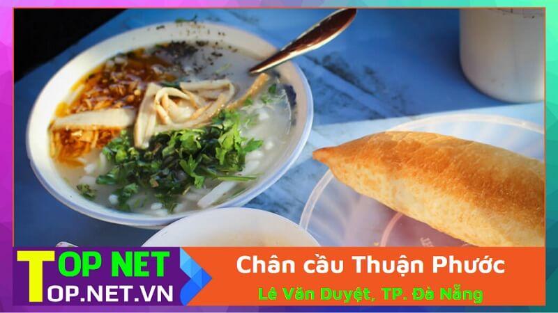 Chân cầu Thuận Phước - Bánh canh ruộng cầu Thuận Phước