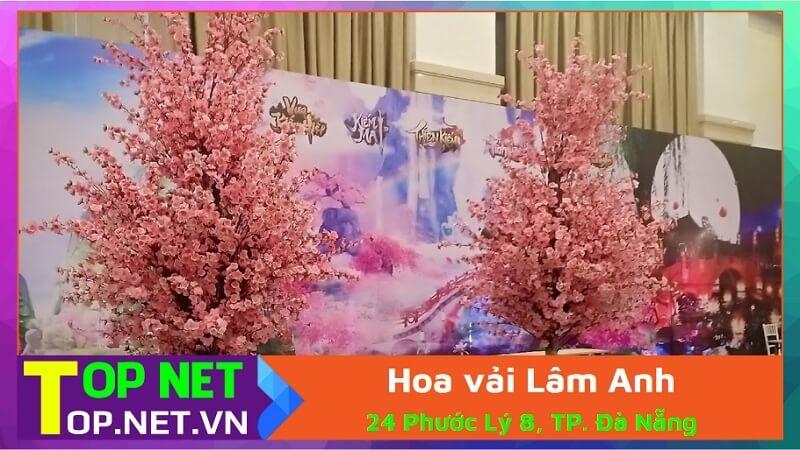 Hoa vải Lâm Anh - Hoa giả ở Đà Nẵng